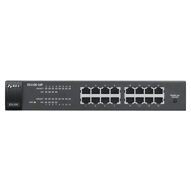 ZyXEL ES1100-16P No gestito L2 Grigio Supporto Power over Ethernet (PoE)