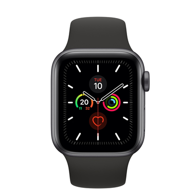Apple Watch Series 5 40mm smartwatch Grigio OLED GPS (satellitare)