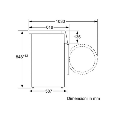 Bosch WAK24168IT lavatrice