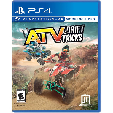 ATV Drift & Tricks VR, PS4 videogioco PlayStation 4 Basic Inglese