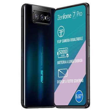 "ASUS ZenFone 7 Pro ZS671KS-2A016EU 16.9 cm (6.67"") 8 GB 256 GB Dual SIM 5G USB Type-C Black Android 10.0 5000 mAh"