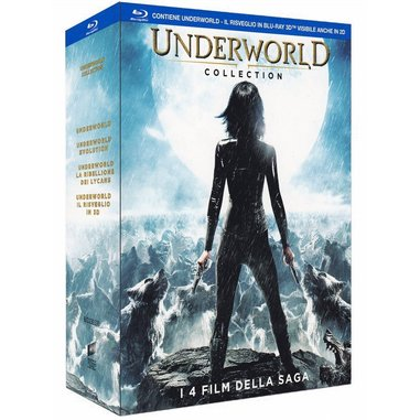 Underworld collection (Blu-ray)