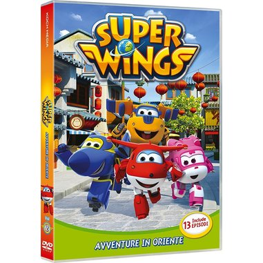 Super Wings avventure in Oriente - volume 2 (DVD)