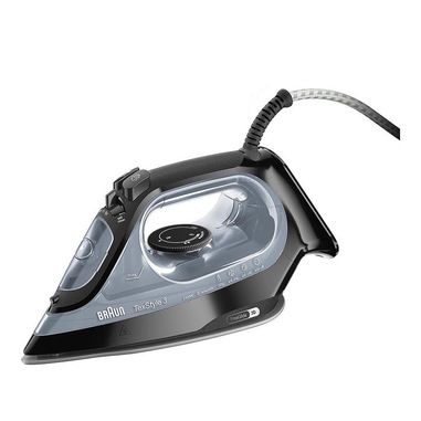 Braun TexStyle 3 SI 3055 Ferro da stiro a secco e a vapore CeramicGlide Nero 2400 W