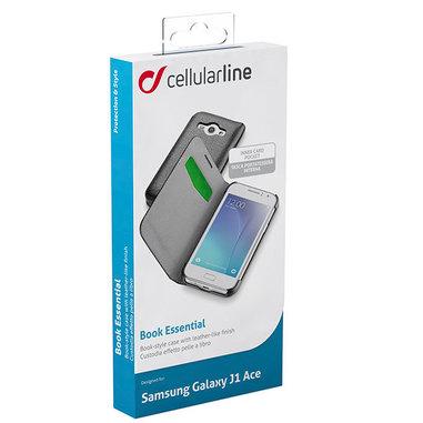 Cellular Line Book Essential per Samsung Galaxy J1 Ace nera