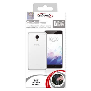 Phonix MZUN3GPW Cover Trasparente custodia per Meizu M3 Note