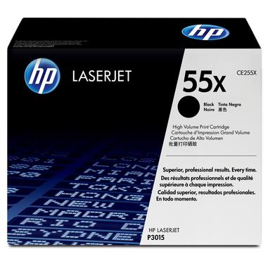 HP Cartuccia Toner originale nero ad alta capacità LaserJet 55X