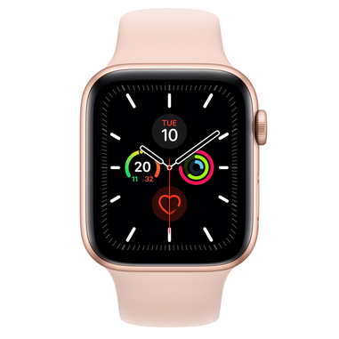 Apple Watch Series 5 44mm smartwatch Oro OLED GPS (satellitare)