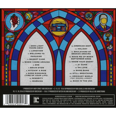 Green Day - Greatest Hits: God's Favorite Band, CD CD Punk