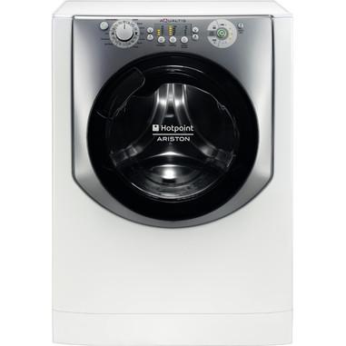 Hotpoint AQUALTIS AQ83L 09 IT Libera installazione Caricamento frontale 8kg 1000Giri/min A+++ Acciaio inossidabile, Bianco lavatrice