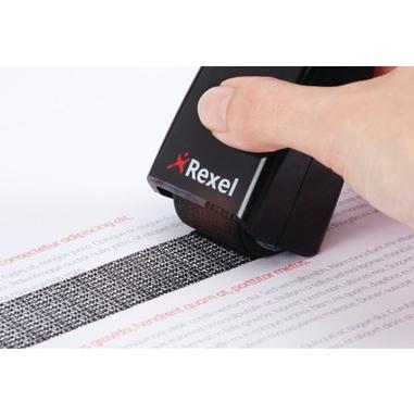 Rexel Rullo di protezione dati - Nero