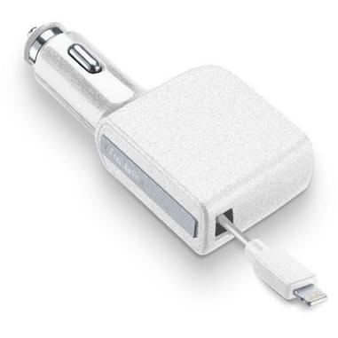 Cellularline CBRARMFIIPH2AW Auto Bianco caricabatterie per cellulari e PDA