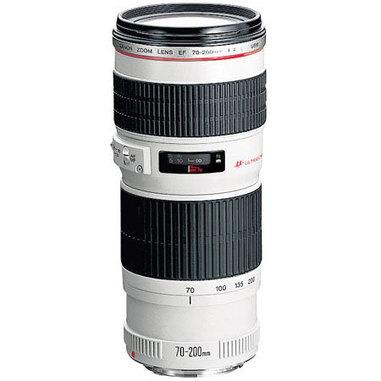 Canon EF 70-200mm f/4.0L USM SLR Obiettivo tele-zoom Bianco