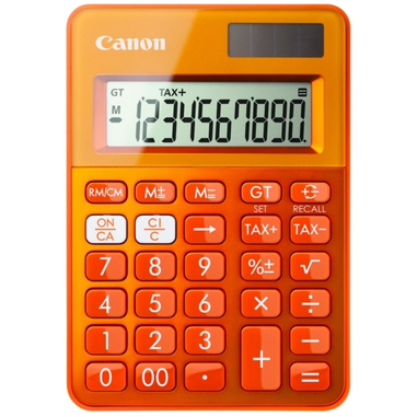Canon LS-100K Arancione calcolatrice