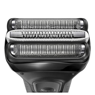 Braun Series 3 3000s Rasoio Nero rasoio elettrico