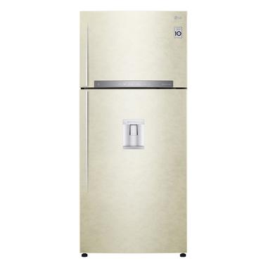 LG GTF744SEPZD frigorifero con congelatore Libera installazione Sabbia 511 L A++