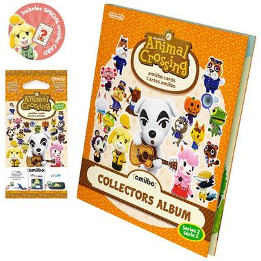 Nintendo 3 amiibo card Animal Crossing Home + album vol. 2