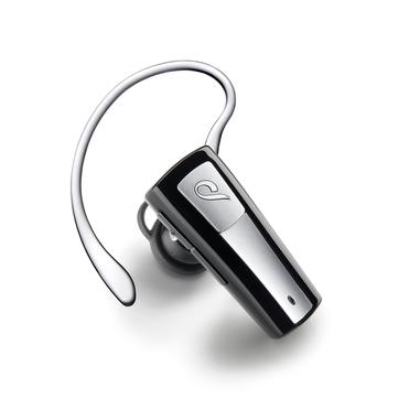 Cellular Line BTMICRO5 Aggancio, Auricolare Monofonico Bluetooth Nero, Grigio cuffia