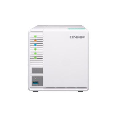 QNAP TS-328 server NAS e di archiviazione RTD1296 Collegamento ethernet LAN Desktop Bianco