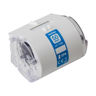 Brother CZ-1005 nastro per etichettatrice Bianco su verde