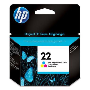HP 22 Originale Ciano, Magenta, Giallo 1 pezzo(i)