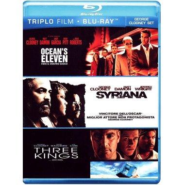 Ocean's eleven - Fate il vostro gioco + Syriana + Three kings (Blu-ray)