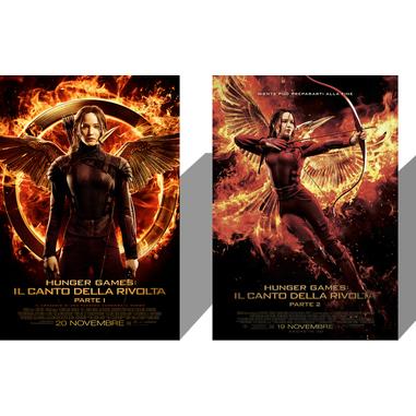 Hunger games: il canto della vittoria 1 e 2 (Blu-ray)
