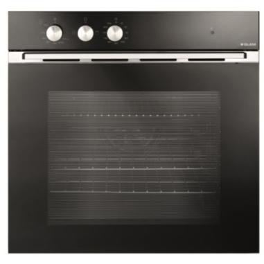 Glem GFMF21BKN Gas naturale 1350W Non specificato Nero forno