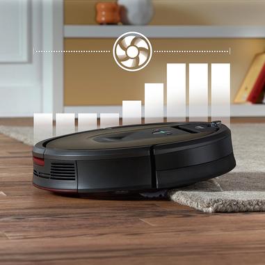 iRobot Roomba 980 Senza sacchetto Nero, Cioccolato aspirapolvere robot