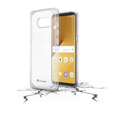 Cellularline Clear Duo - Galaxy S8 Plus Accoppiata ad alta protezione Trasparente