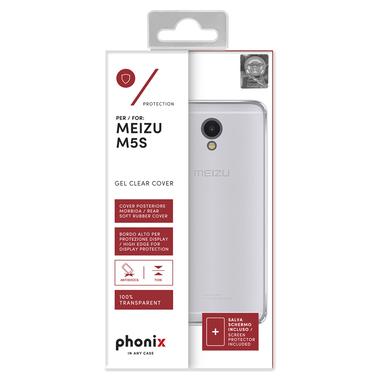 Phonix MZM5SGPW Custodia Trasparente custodia per Meizu M5S