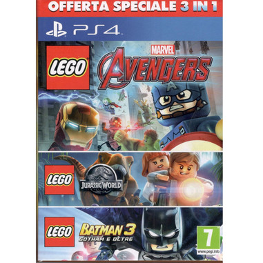 LEGO new mega pack 3 in 1 - Playstation 4