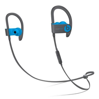 Beats Powerbeats3 Aggancio, Auricolare Stereofonico Senza fili Nero, Blu auricolare per telefono cellulare