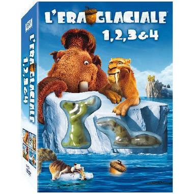 L'Era Glaciale 1, 2, 3 e 4 (DVD)