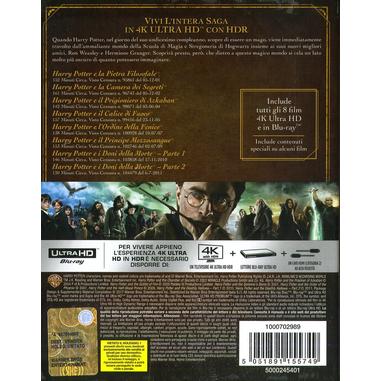 Harry Potter - Collezione 8 Film (4K Ultra HD)(Blu-ray)