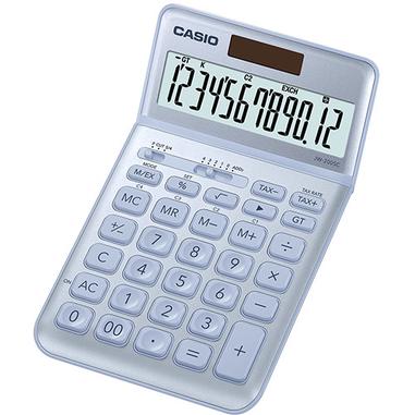 Casio JW-200SC calcolatrice Scrivania Calcolatrice di base Blu