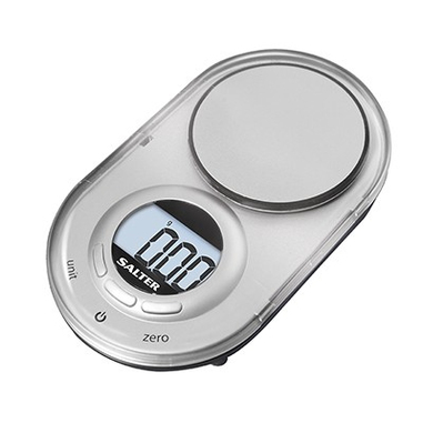 Salter 1260 SVDR Bilancia da cucina elettronica Argento bilancia da cucina