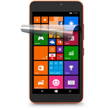 Cellularline Ok Display Invisible - Lumia 640 Xl Pellicola protettiva ultra trasparente e facile da applicare Trasparente