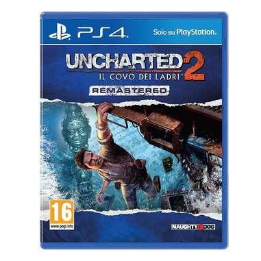 Uncharted 2: il covo dei ladri - rimasterizzato - PS4