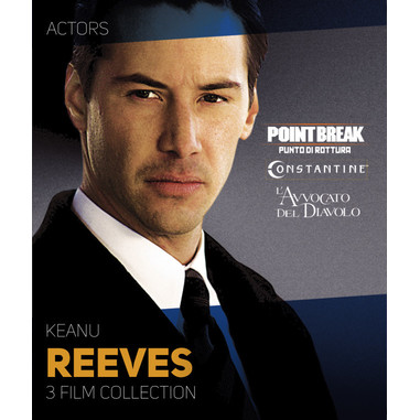 Keanu Reeves: 3 film collection (Blu-ray)