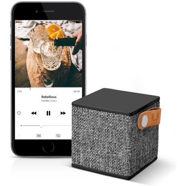 Fresh 'n Rebel Rockbox Cube Fabriq minispeaker nero