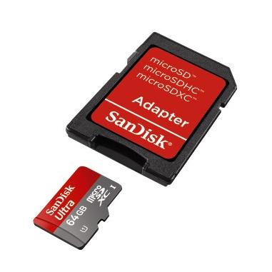 SanDisk 64GB microSDXC
