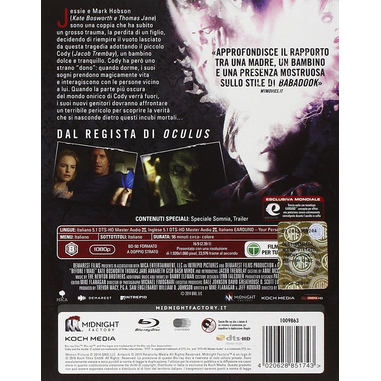 Somnia Blu Ray