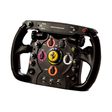 Thrustmaster Ferrari F1 Wheel Add-On + T.Racing Scuderia Ferrari Edition Volante PC Analogico/Digitale USB Nero, Rosso
