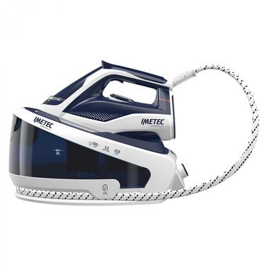 Imetec ZeroCalc Pro Ceramic PS2 2400 2100 W 2 L Ceramica Blu, Bianco