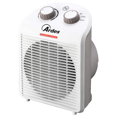 Ardes AR4F01N stufetta elettrica Riscaldatore ambiente elettrico con ventilatore Interno Bianco 2000 W