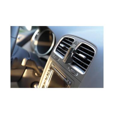 Cellularline Car Headset Pro - Universale Speaker Bluetooth da auto per telefonare e guidare in sicurezza Nero