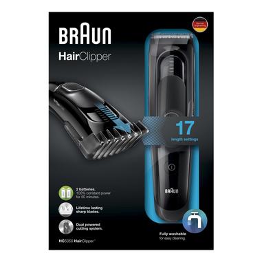 Braun HC5050 Nero Ricaricabile