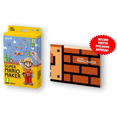 Super Mario maker + artbook - Wii U