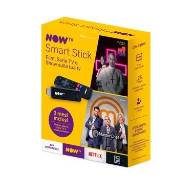 NOW TV Smart Stick con i primi 3 mesi a scelta tra Cinema oppure Serie TV e Intrattenimento